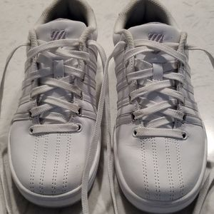 Women K Swiss white excellent condition si…